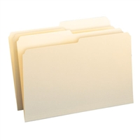 Smead File Folder, 1/2-Cut Tab, Legal Size, Manila, 100/Box (15320)
