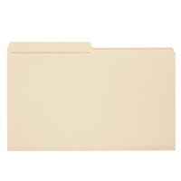 Smead File Folder, Reinforced 1/2-Cut Tab, Legal Size, Manila (15326)