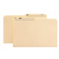 Smead 100% Recycled File Folder, 1/2-Cut Tab Center Position, Legal, Manila (15329)