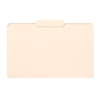 Smead File Folders, 1/3-Cut Tab Center Position, Legal, Manila (15332)