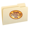 Smead Manila Folder, 1/3-Cut Tab Right Position, Legal Size (15333)