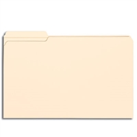Smead File Folder, Reinforced 1/3-Cut Tab Left Position, Legal (15335)