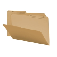 Smead Colored Folders with Reversible Tab (153640) Natural Sand