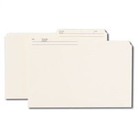 Smead Colored Folders with Reversible Tab (15348) Ivory