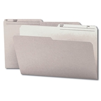 Smead Colored Folders with Reversible Tab (15363) Gray
