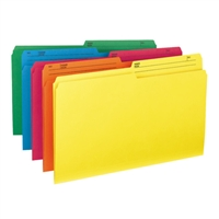 Smead Colored File Folders with Reversible Tab (15391)