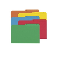 Smead Colored File Folders with Reversible Tab (15394)