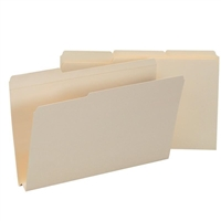 "Smead File Folders, Reinforced 1/3-Cut Tab, 1-1/2"" Exp, Legal (15405)"