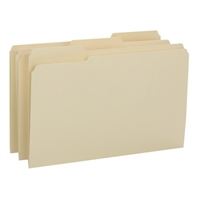 Smead File Folder, Reinforced 1/3-Cut Tab, Legal Size, Manila (15434)