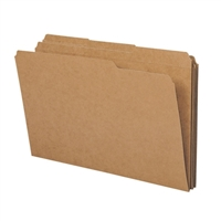 Smead File Folder, Reinforced 1/3-Cut Tab, Legal Size, Kraft (15734)