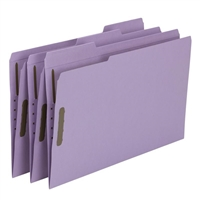Smead Fastener File Folder, 2 Fasteners, 1/3-Cut Tab, Legal (17440)