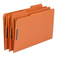 Smead Fastener File Folder, 2 Fasteners, 1/3-Cut Tab, Legal (17540)