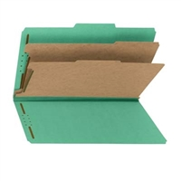 Smead 100% Recycled Pressboard Colored Classification Folders (19049)