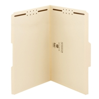 Smead 100% Recycled Fastener File Folder, 2 Fasteners (19547)