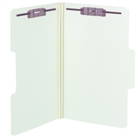 Smead SuperTab Pressboard Fastener Folders Box of 25 (19981)