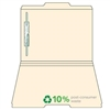 Manila Top Tab File Folders, 1/3-Cut (2nd Position), 1 Fast, 50/Box