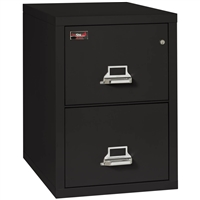 FireKing 2 Hour Rated File Cabinet 2 Drawer