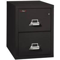 "FireKing 2-Drawer File Cabinet 31"" D Legal-Size 2-2131-C"