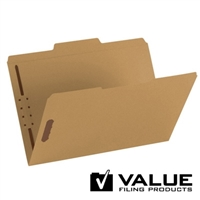 Fastener File Folder, 2 Fasteners, 1/3-Cut Tab, Legal (21140)