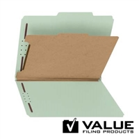 Smead Comparable 100% Recycled Pressboard Colored Classification Folders (21181)