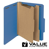 "100% Recycled Pressboard Classification Folder, 2"" Exp (21184)"