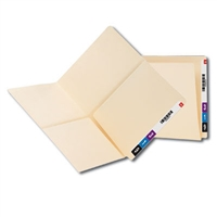 Smead End Tab Pocket Folder, Shelf-Master Straight-Cut Tab 25/Bx (24117)
