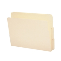 Smead End Tab File Folder, Shelf-Master 1/3-Cut Tab, Letter 100/Bx (24134)