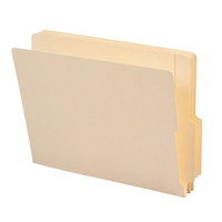 "Smead End Tab File Folder, Shelf-Master 4"" High Tab 1-1/8"" 100/Bx (24179)"