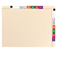 Smead Conversion File Folder Top and End Tab, Letter, Manila, (24190)
