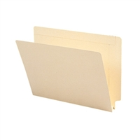"Smead End Tab File Folder, Straight-Cut Tab, 1-1/2"" Exp Manila 50/Bx (24275)"