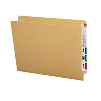 Smead End Tab Folder, Straight-Cut Tab, Letter Size, Kraft, 50/Bx (24400)