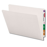 Smead End Tab File Foldes, Letter Size, Ivory, 100/Box (24506)