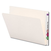 Smead End Tab Heavyweight File Folder, Reinforced Straight-Cut Extended Tab, Letter, 50/Bx (24507)