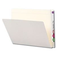 Smead End Tab File Foldes, Letter Size, Ivory, 100/Box (24509)