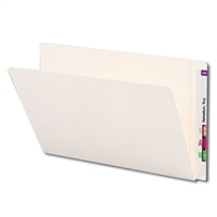 Smead End Tab Heavyweight File Folder, Reinforced Straight-Cut Extended Tab, Legal, 50/Bx (24557)