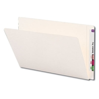 Smead End Tab Folder, Straight-Cut Tab, Legal Size, Ivory, 100/Bx (24559)