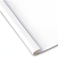 SteelMat - White 05MM : 25-40 PGS (100/Bx)