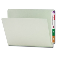 "Smead End Tab Pressboard File Folder, Straight-Cut Tab, 1"" Expansion 25/Bx (26200)"