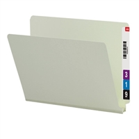 "Smead End Tab Pressboard File Folder, Straight-Cut Tab, 2"" Exp 25/Bx (26210)"