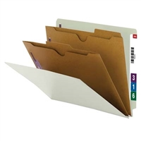 Smead End Tab Classification File Folder w/ SafeSHIELD Fasteners 10/Bx (26710)