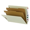 Smead 100% Recycled End Tab Classification Folder, Letter (26802)