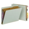 Smead End Tab Pressboard Classification Folder with SafeSHIELD 10/Bx (26810)