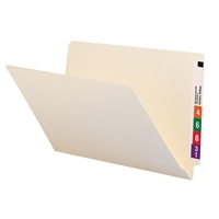 Smead End Tab File Folder, Straight-Cut Tab, Legal Size, Manila, 100/Bx (27100)