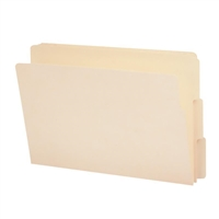 "Smead End Tab File Folder, Shelf-Master 4"" High Tab 1-1/8"" 100/Bx (27134)"