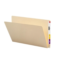 Smead End Tab File Folder, Straight-Cut Extended Tab, Legal 100/Bx (27250)