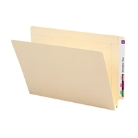 "Smead End Tab File Folder, Straight-Cut Tab, 1-1/2"" Exp Manila 50/Bx (27275)"