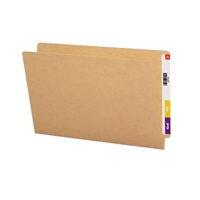 Smead End Tab Folder, Straight-Cut Tab, Legal Size, Kraft, 50/Bx (27400)