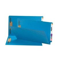 Smead End Tab Fastener File Folder, Shelf-Master, Legal, Blue 50/Bx (28040)