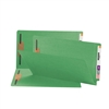 Smead End Tab Fastener File Folder, Shelf-Master, Legal, Green 50/Bx (28140)