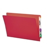 Smead Colored End Tab File Folder, Shelf-Master Straight-Cut 100/Bx (28710)